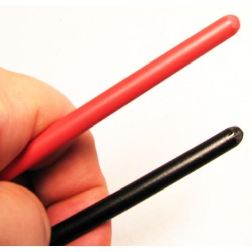 BQS - Spanskrør i plastikk rød70 cm