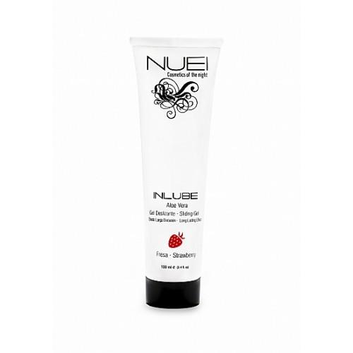 NUEI - Inlube - Vannbasert Glidemiddel med Smak - Jordbær